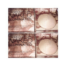 Urban Decay Naked Illuminated Shimmering Powder for Face and Body Review + Swatches in Luminous