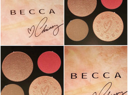Becca X Chrissy Teigen Palette Review + Swatches + Comparison to Jaclyn Hill Palette