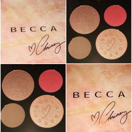 Becca X Chrissy Teigen Palette Review + Swatches + Comparison to Jaclyn Hill Palette