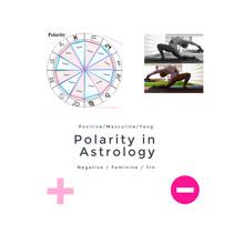 The Polarity Groups in Astrology- Positive, Masculine, Yang vs Negative, Feminine, Yin