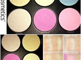BH Cosmetics Blacklight Highlighting Palette Review + Swatches