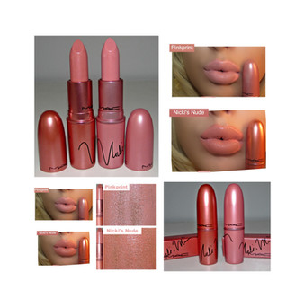 MAC Cosmetics X Nicki Minaj Lipsticks in Pinkprint & Nicki's Nude Review + Swatches