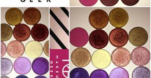 Makeup Geek Individual Shadows Part 2 Review + Swatches- 10 x Shades