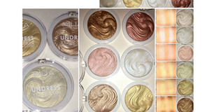MUA Undress Your Skin Powder Highlighters Review + Swatches
