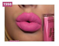 Too Faced 1998 Liquid Lipstick Lip Swatc