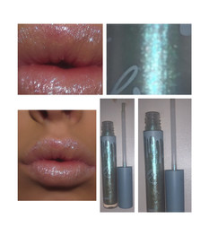 Kylie Cosmetics Holiday Collection – Super Glitter Gloss in Snow Sparkles Review + Swatches