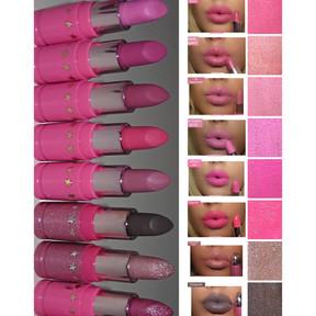 Jeffree Star Lip Ammunition Traditional Lipsticks Review + Swatches