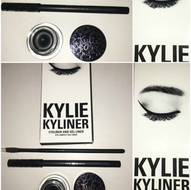 Kylie Cosmetics Kyliner Kit Review + Swatches in Black