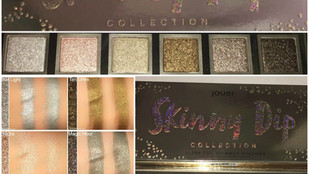 Jouer Cosmetics Skinny Dip Collection Ultra Foiled Eyeshadow Palette Review + Swatches