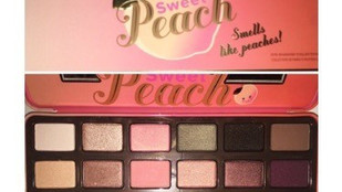 Too Faced Sweet Peach Eyeshadow Palette Review + Full Swatch