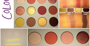 ColourPop Yes Please Pressed Powder Eyeshadow Palette Review + Swatches