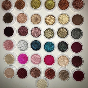 ColourPop Super Shock Shadows Part 1- Review + Swatches- 27 shades