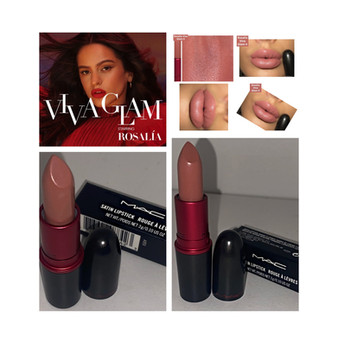 MAC Cosmetics Viva La Glam Rosalia Lipstick Viva Glam II Review and Swatches