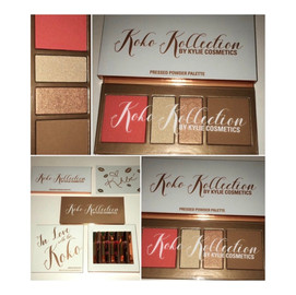 Kylie Cosmetics KoKo Kollection TAKE 2 Part 2 – KoKo Pressed Powder Face Palette Review + Swatches
