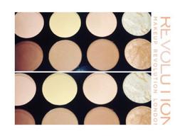 Makeup Revolution Ultra Contour Palette Swatch + Review