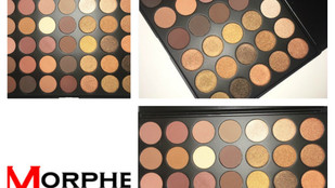 Morphe 35R Palette Review + Swatches