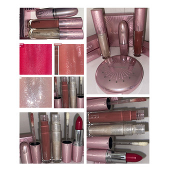MAC Cosmetics Frosted Firework Holiday 2020 Collection Lipstick + Lipgloss Review and Swatches