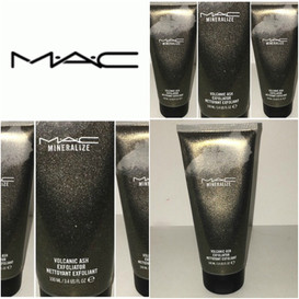MAC Cosmetics Mineralise Volcanic Ash Facial Exfoliating Scrub Review + Full Physical, Chemical, Mar