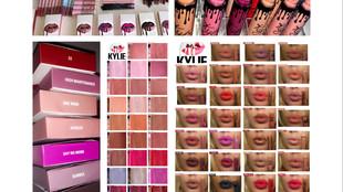 Kylie Cosmetics Matte Liquid Lipstick Swatches – x35 Shades