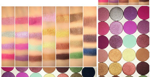 Morphe Standard Individual Shadows Part 1 Review + Swatches (x27 Shades)