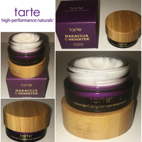 Tarte Maracuja C-Brightener Eye Treatment Review + Full Physical, Chemical, Marketing and Price Anal