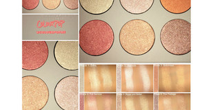 ColourPop Gimmie More Pressed Powder Highlighter Palette Review + Swatches