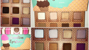 Beauty Bakerie Neapolitan Eyescream Eyeshadow Palette Review + Swatches