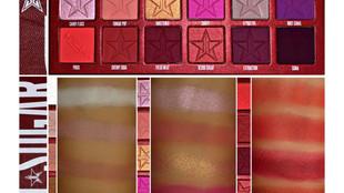 Jeffree Star Blood Sugar Palette Arm Swatches + First Impressions