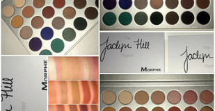 Jaclyn Hill X Morphe Eyeshadow Palette Review + Full Swatches + 2 Looks!!!