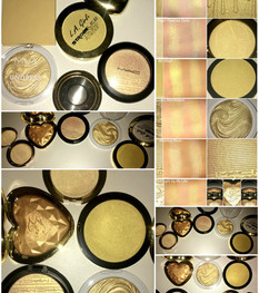 Kylie Cosmetics Banana Split Kylighter Dupes- MAC, LA Girl, Too Faced, Becca + MUA