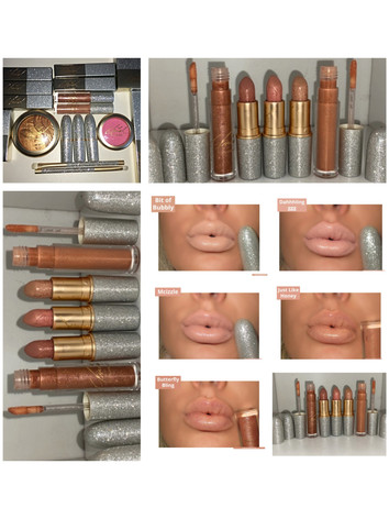 MAC X Mariah Carey Collection Part 2- Lipglass and Lipstick Swatches
