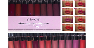ColourPop Shut Up & Kiss Me Ultra Satin Liquid Lipstick Set Review + Swatches- x 12 Shades