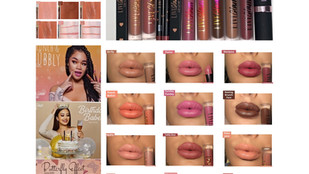 Live Glam Kiss Me May, April, June 2020 Liquid Lipstick Review + Swatches