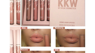 KKW X Kylie Cosmetics Creme Liquid Lipstick Colboration Review + Swatches
