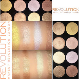 Makeup Revolution Ultra Strobe and Light Palette Review + Swatches