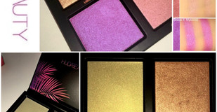 Huda Beauty Summer Solstice Highlighting Palette Review + Swatches