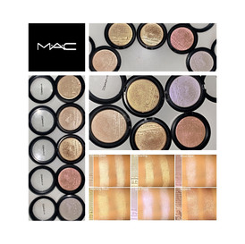 MAC Extra Dimension Skinfinish Highlighter Review and Swatches