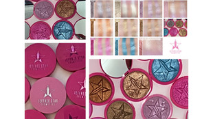 Jeffree Star Cosmetics Skin Frost Highlighters Review and Swatches x 10 Shades