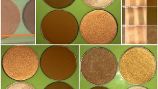 Pixi X Maryam Maquillage NYC Strobe & Bronze Highlight and Contour Palette Review + Swatches
