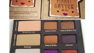 Too Faced Peanut Butter and Jelly Eyeshadow Palette Review, Swatches, Swatch Comparisons