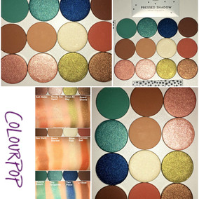 New ColourPop Pressed Powder Shadows for Summer 2017 Review + Swatches (x12 Shades)