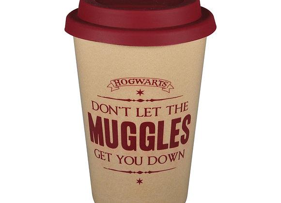 Harry Potter Huskup Travel Mug - Don't Let The Muggles Get You Down