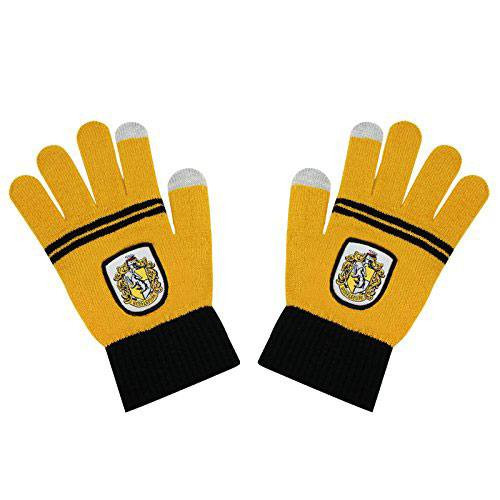 Hufflepuff e-touch gloves