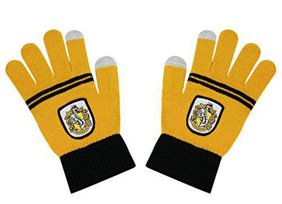 Harry Potter E-Touch Gloves Hufflepuff