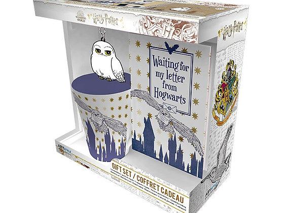 Harry Potter Hedwig Mug, Notebook & Keyring Gift Pack