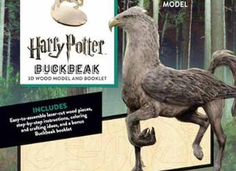 Harry Potter Incredibuilds Buckbeak 3D Wood Model and Booklet