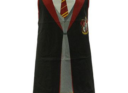 Harry Potter Hogwarts Uniform Apron - Gryffindor