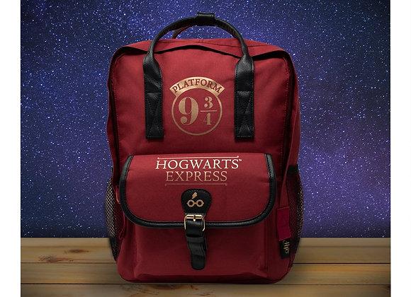 Harry Potter Premium Hogwarts Express Backpack - Burgundy