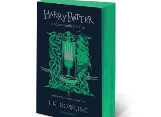 Harry Potter and the Goblet of Fire - Slytherin Edition (Paperback)
