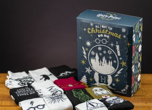 Harry Potter 12 Day Sock Advent Calendar